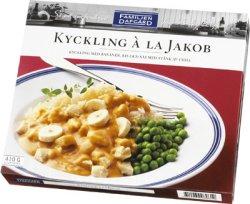Prøv også Kylling á la Jacob, Dafgård.