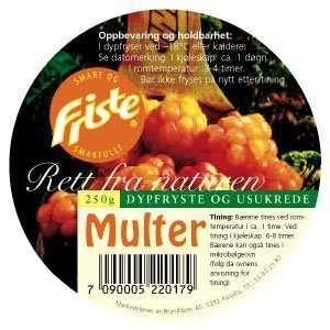 Prøv også Friste Multer.
