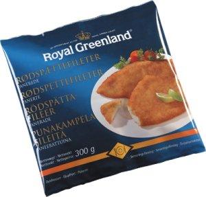 Prøv også Rødspettefileter, Royal Greenland.