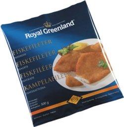 Prøv også Fiskefileter, panert, Royal Greenland.