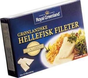 Prøv også Hellefisk fileter, Royal Greenland.