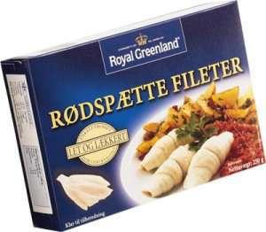 Prøv også Rødspette fileter, naturell, Royal Greenland.