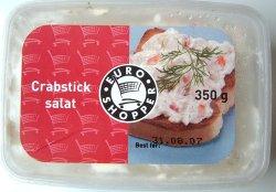 Prøv også Euroshopper Crabsticksalat.