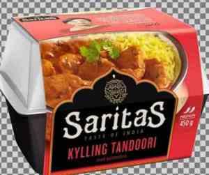 Prøv også Saritas Tandoori med kylling.