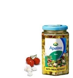 Prøv også Arla Apetina Feta Marinert 375.