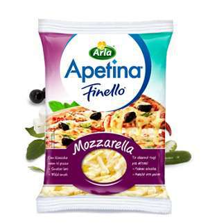 Prøv også Arla Apetina Finello Mozzarella.