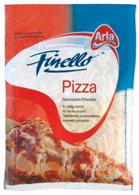 Prøv også Arla Finello Pizza.