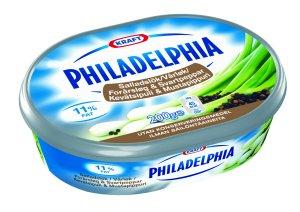Prøv også Philadelphia Light vårløk og sort pepper.