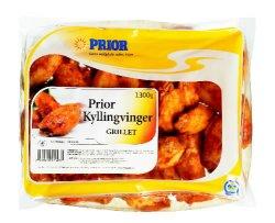 Prøv også Prior supergrill kyllingvinger.