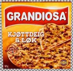 Prøv også Grandiosa kjøttdeig og løk.