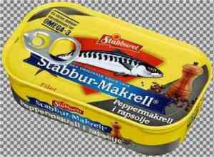 Prøv også Stabbur makrell peppermakrell i rapsolje.