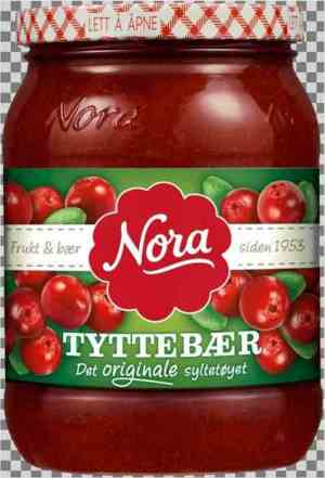 Prøv også Nora Tyttebærsyltetøy.