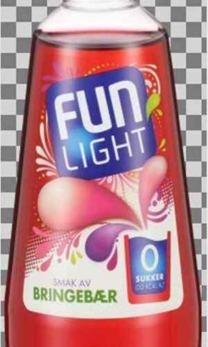 Prøv også Fun Light Bringebær.