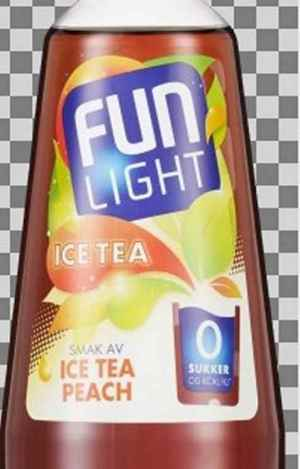 Prøv også Fun Light Ice Tea Peach.
