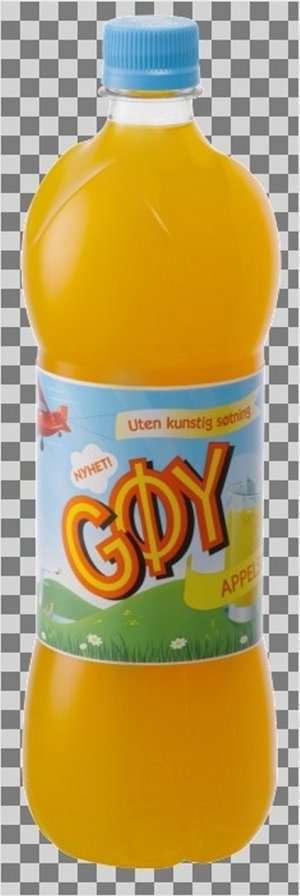 Prøv også Gøy appelsinsaft.