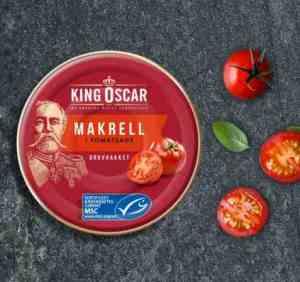 Prøv også King Oscar Grovrevet-Makrell i tomat.