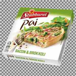 Prøv også Stabburet pai med bacon og broccoli.