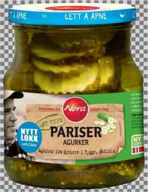 Les mer om Nora Pariser agurk hos oss.