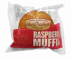Prøv også Aunt Mabel raspberry muffin.