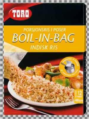 Prøv også Toro Boil in bag Indisk ris.