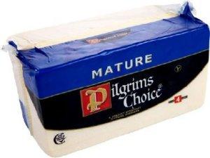 Prøv også Pilgrims Choice Cheddar.