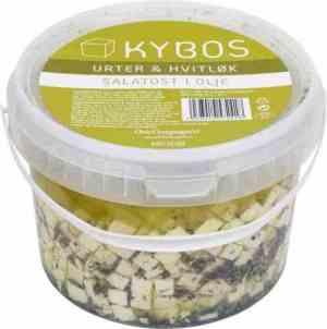 Prøv også KYBOS salatost i olje med urter og hvitløk.