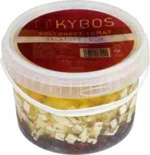 Prøv også KYBOS salatost i olje med soltørket tomat.