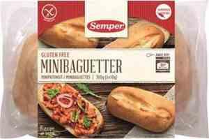 Prøv også Semper Minibaguetter.