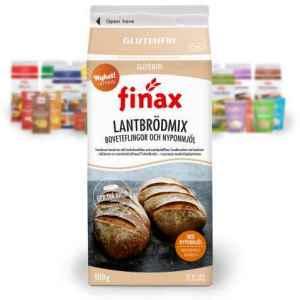 Prøv også Finax Brødmix lantbrödmix.