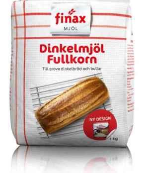 Prøv også Finax Dinkelmjöl fullkorn.