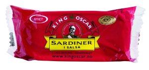 Prøv også King Oscar brislingsardiner i salsa.