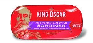 Prøv også King Oscar brislingsardiner mediterranean style.