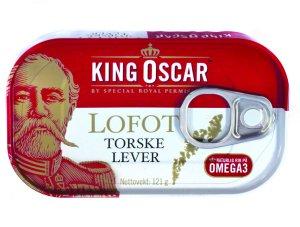 Prøv også King Oscar lofot torskelever.
