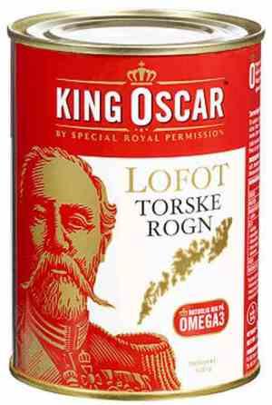 Prøv også King Oscar lofot torskerogn.