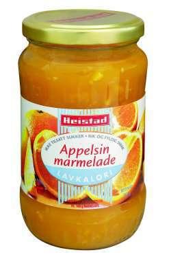 Prøv også Heistad appelsinmarmelade.