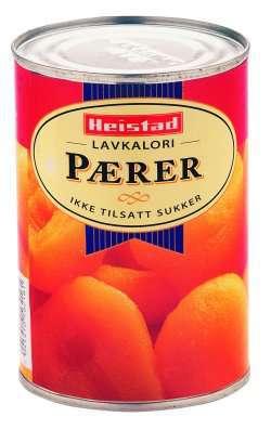 Prøv også Heistad lavkalori pære.