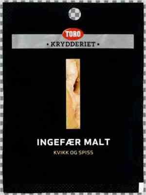 Prøv også Toro Krydderiet Ingefær Malt.