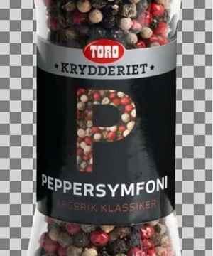Prøv også Toro Krydderiet Peppersymfoni.