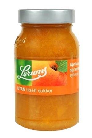 Prøv også Lerum fersken - aprikos uten tilsatt sukker.