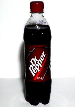 Prøv også Dr. Pepper.