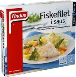Prøv også Findus Fiskefilet i saus 380g.