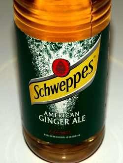 Prøv også Scweppes Ginger Ale.