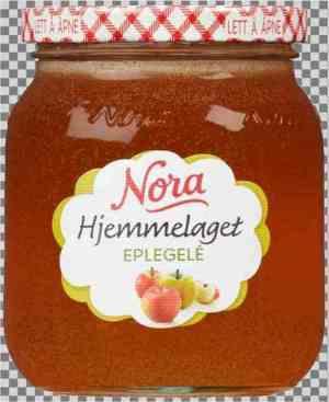Prøv også Noras hjemmelaget eplegele.