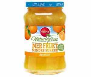 Prøv også Nora Naturlig lett appelsinmarmelade.