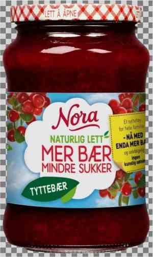 Prøv også Nora Naturlig lett tyttebærsyltetøy.