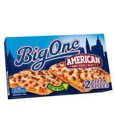 Prøv også Big One Pizza Slice american.