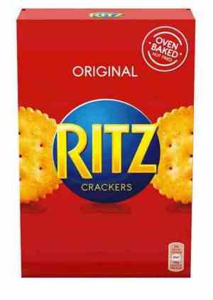 Prøv også Ritz Crackers.