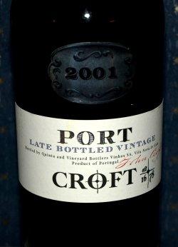 Les mer om Croft port late bottled vintage 2001 hos oss.