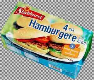 Prøv også Stabburet 4 stk hamburgere med brød.