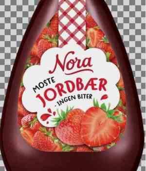 Prøv også Nora Jordbærsyltetøy Squeezy.